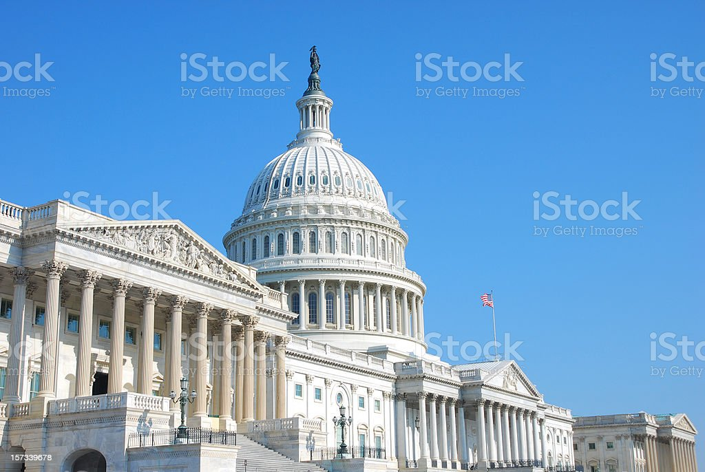 US Congress royalty-free stock photo