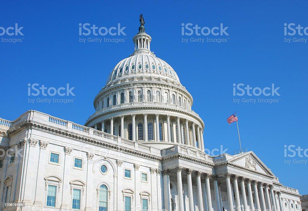 US Congress royalty-free stock photo