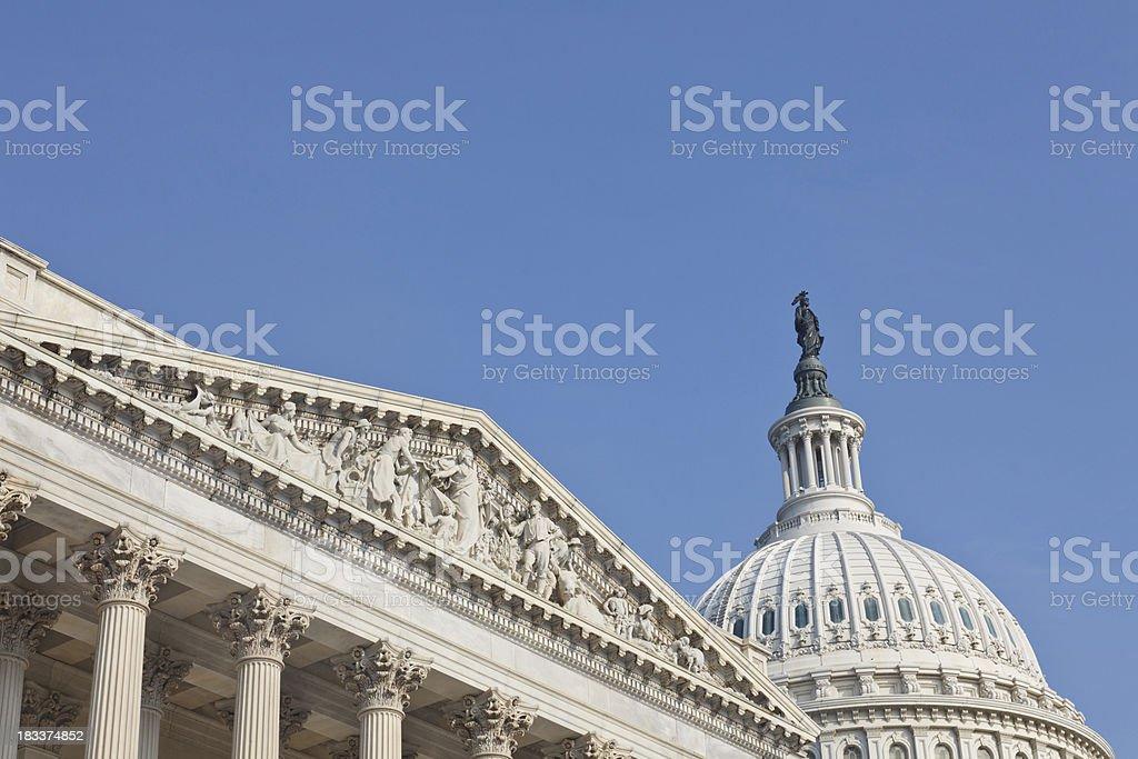US Congress, Washington DC stock photo