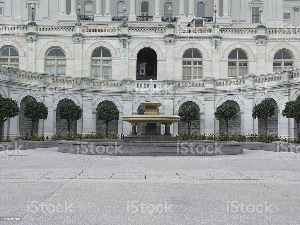 Congressional Fountain stock photo