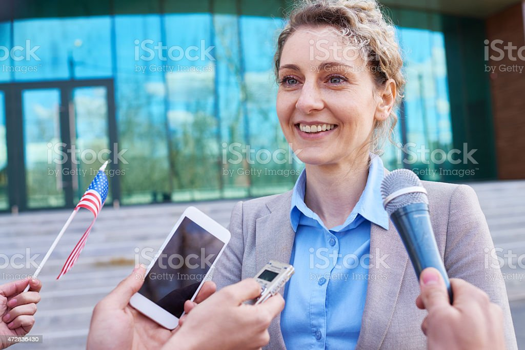Congresswoman stock photo