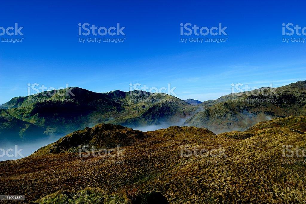 Coniston Fells stock photo