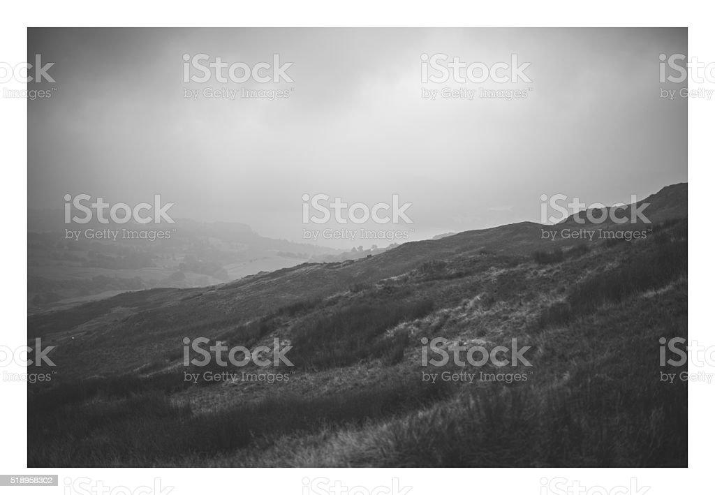 Coniston stock photo