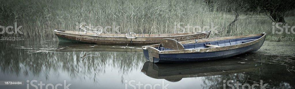 Coniston water stock photo