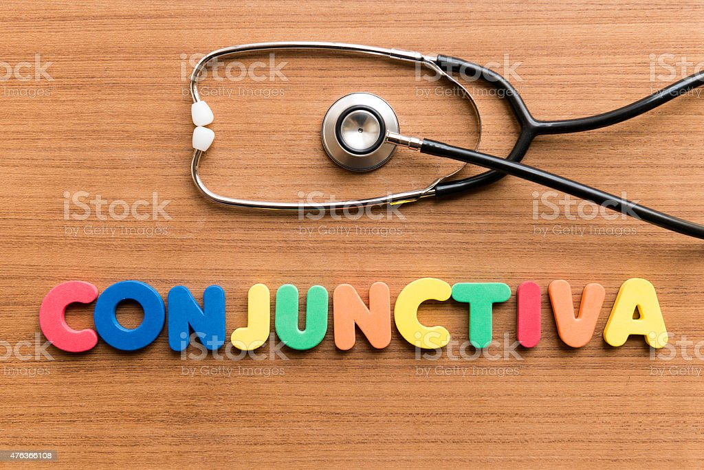 Conjunctiva stock photo
