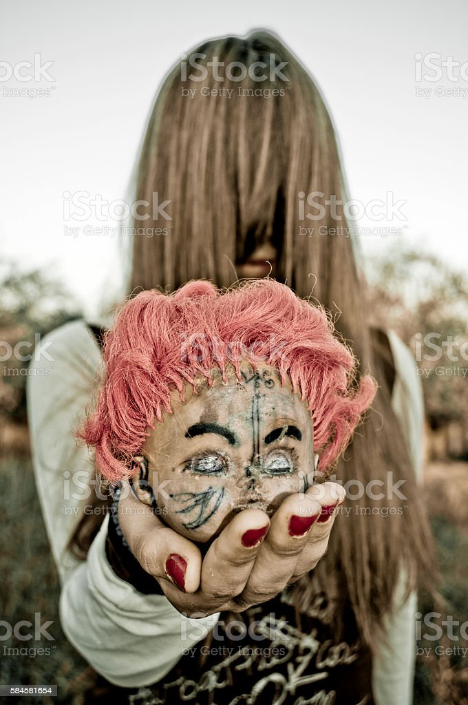 Conjuring stock photo