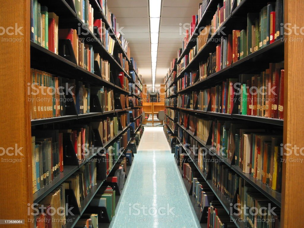 Conn Library - B stock photo