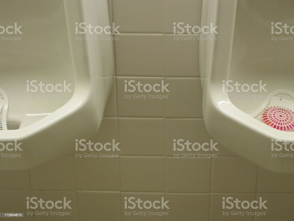 Conn Toilets Urinal - H royalty-free stock photo