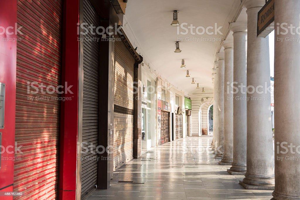 Connaught Place, New Delhi, India - CNGLTRV1109 stock photo