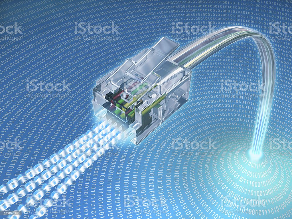Connect Plug stock photo
