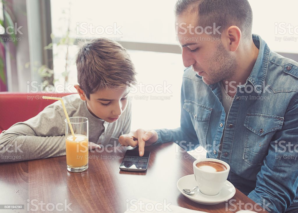 Connect to wireless internet stock photo