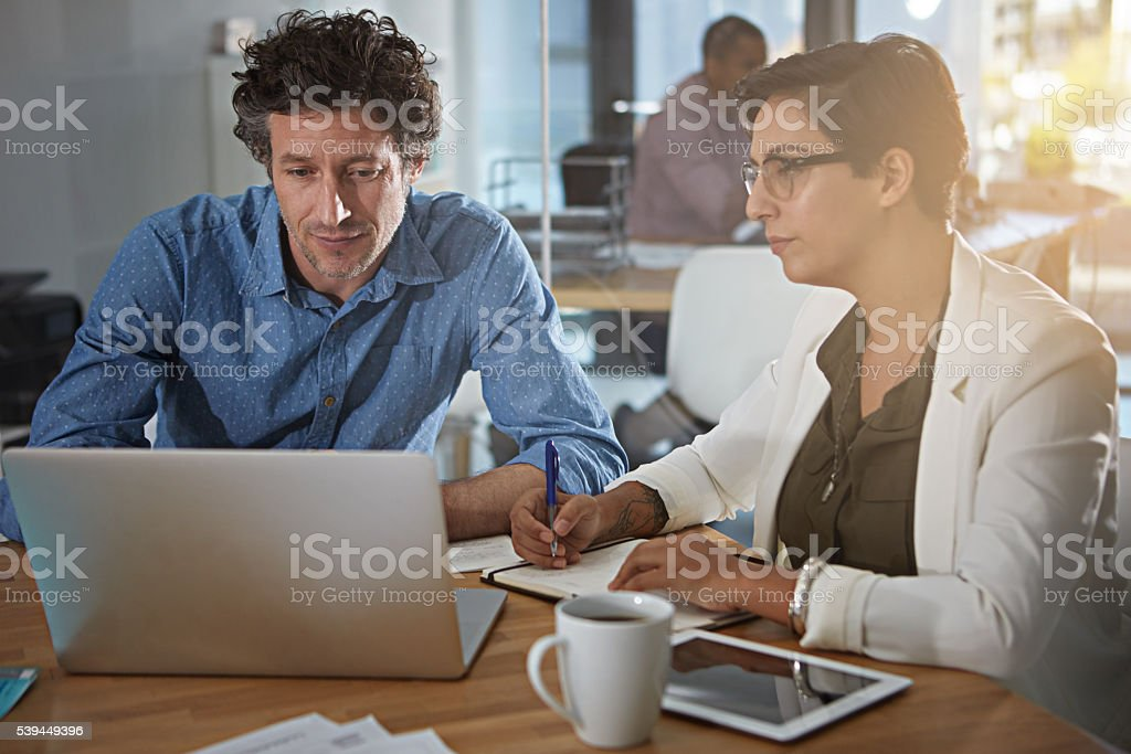 Connected in multiple ways stock photo