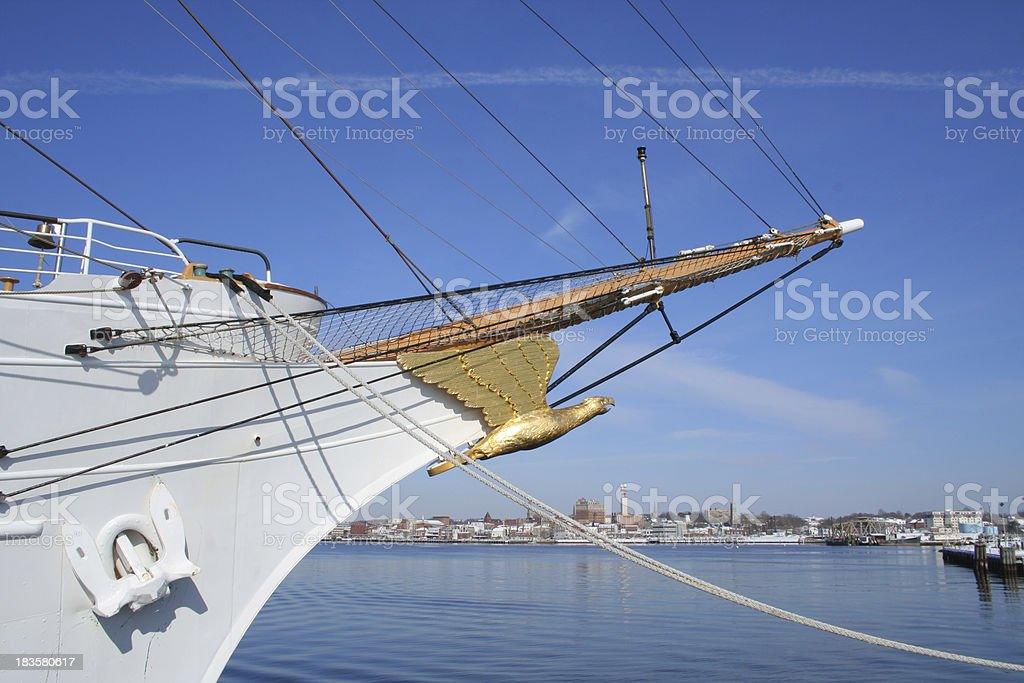 Connecticut: Barque Eagle royalty-free stock photo