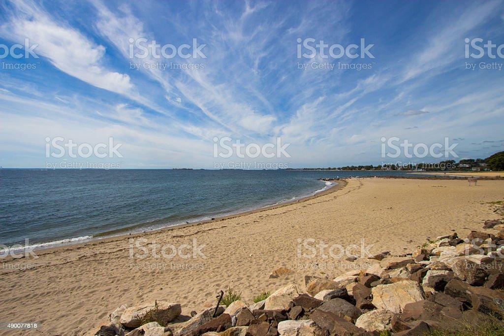 Connecticut Coastline stock photo