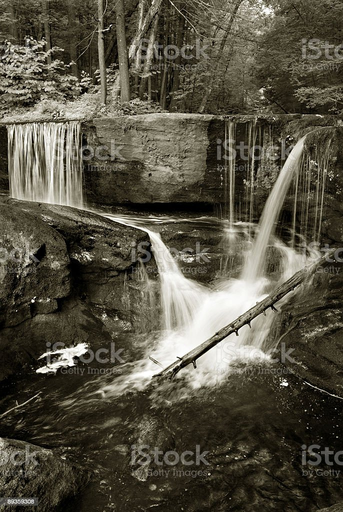 Connecticut Falls stock photo