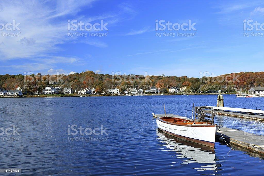 Connecticut: Mystic Seaport stock photo