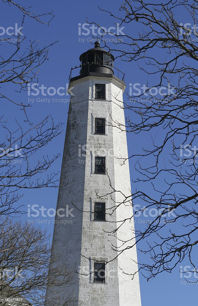 Connecticut: New London Light royalty-free stock photo