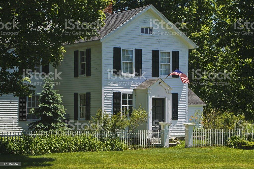 Connecticut Patriotism stock photo