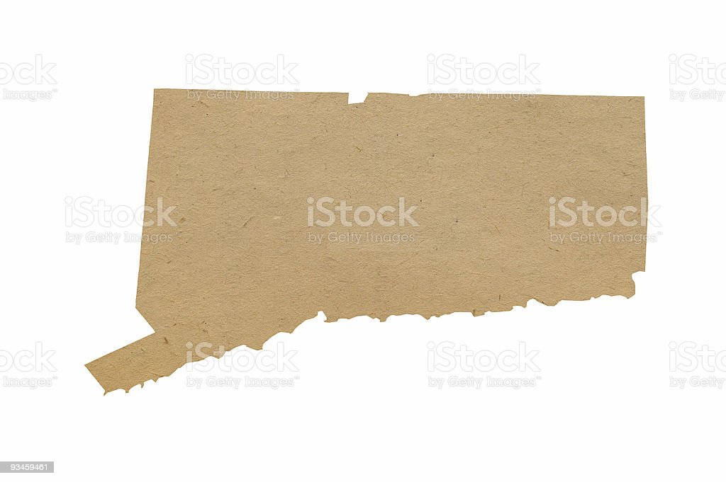 Connecticut Recycles stock photo