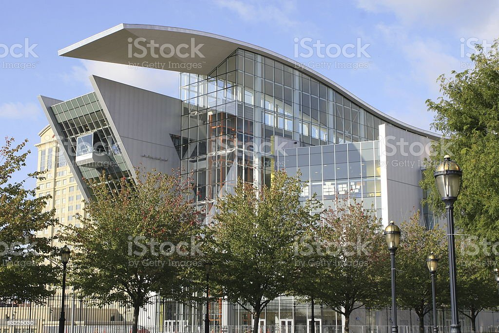 Connecticut Science Center stock photo