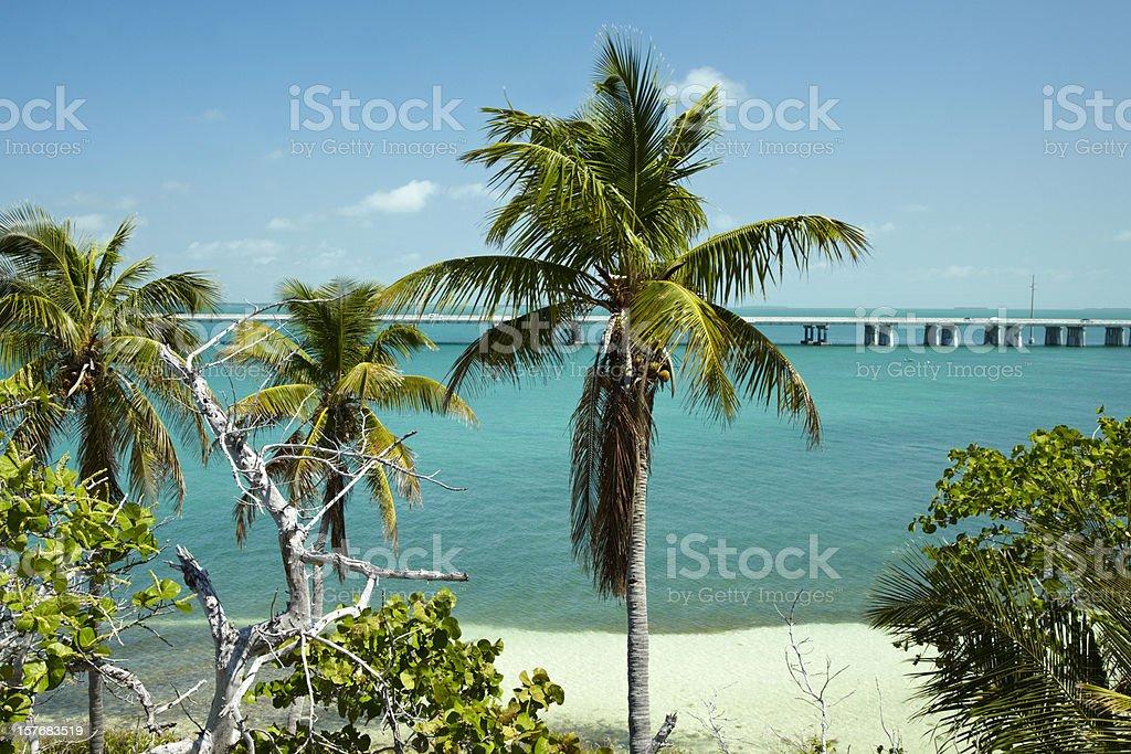 Connecting  Florida Keys stock photo