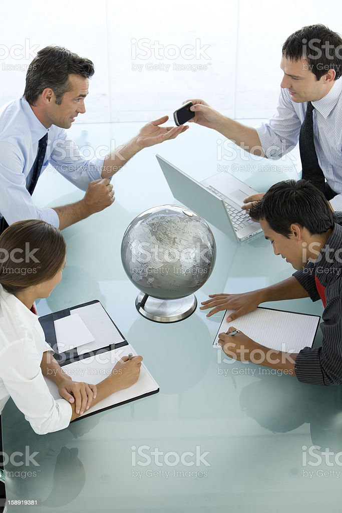 Connecting People royalty-free stock photo