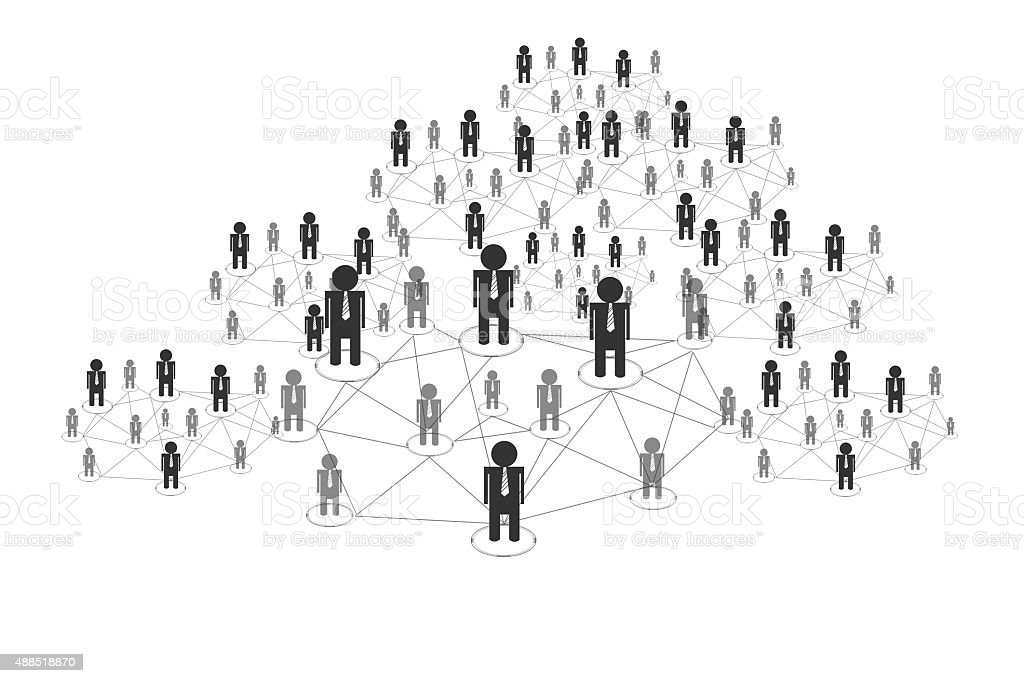 connecting people stock photo