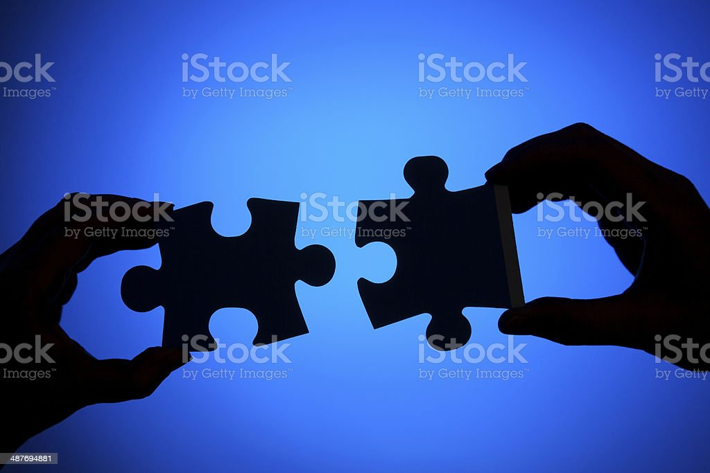 Connecting stock photo
