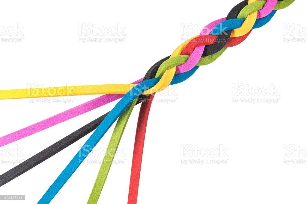 Connection, Merger, Teamwork stock photo
