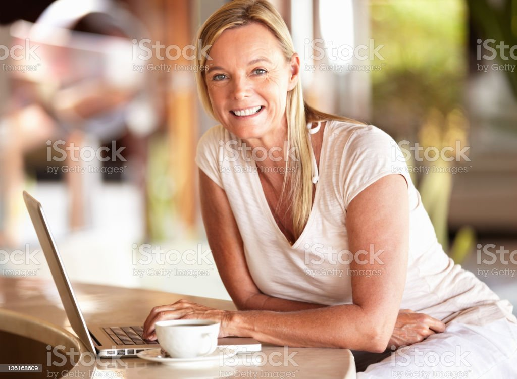 Connection on vacation royalty-free stock photo