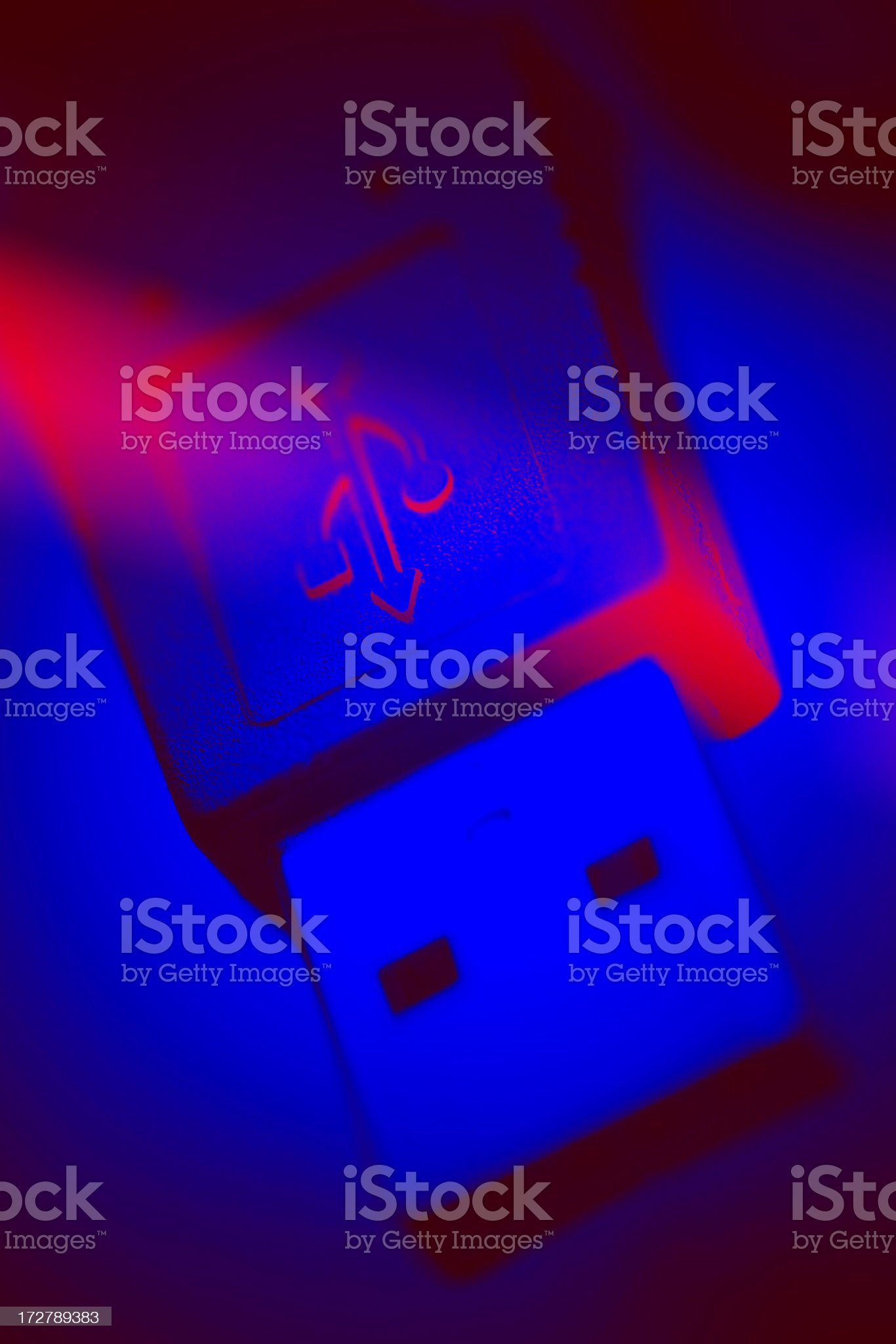 USB connection. royalty-free stock photo