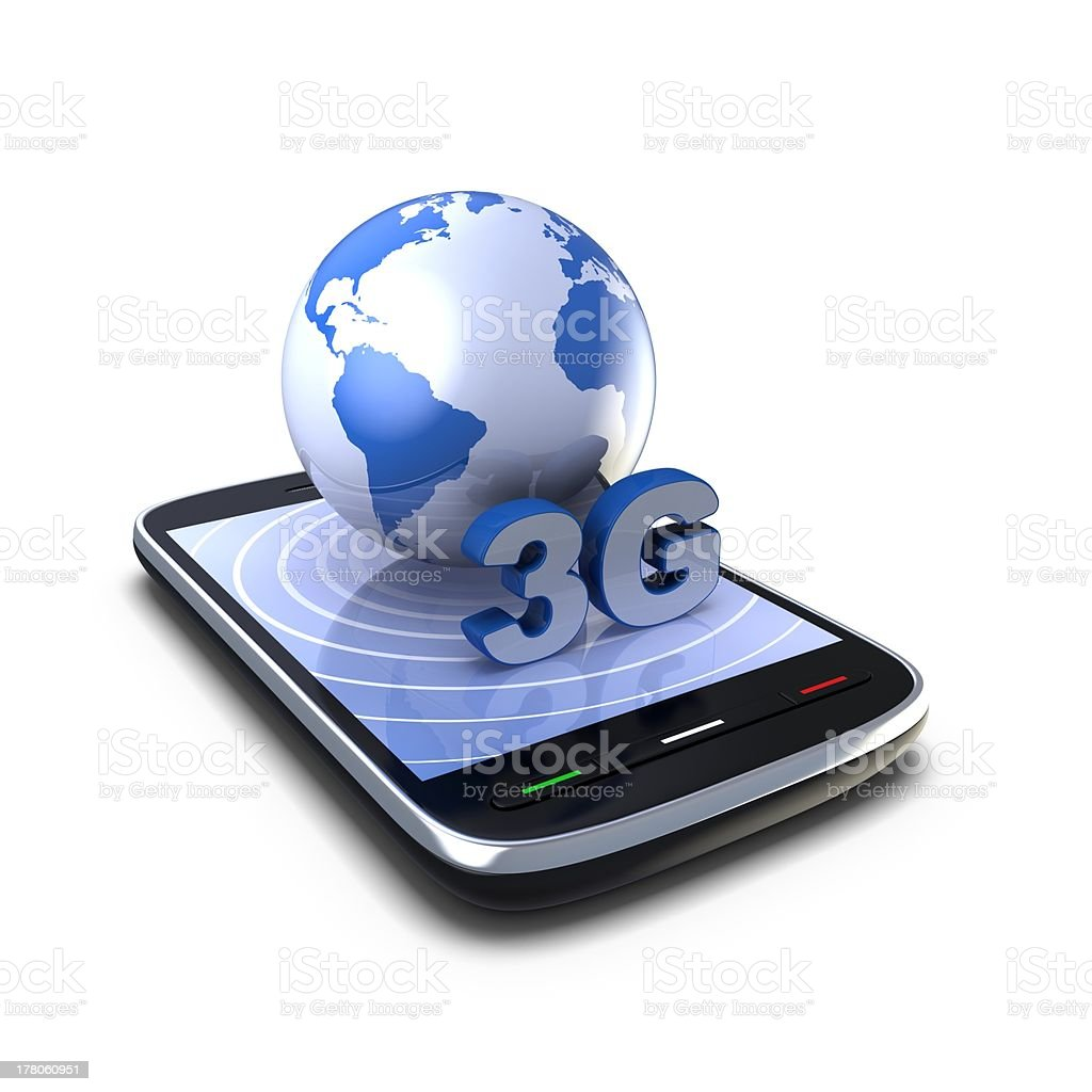 3G Connection royalty-free stock photo