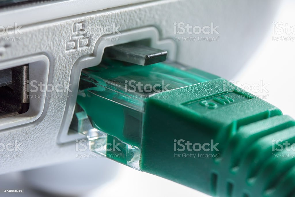 Connectivity, Network computer Cable stock photo