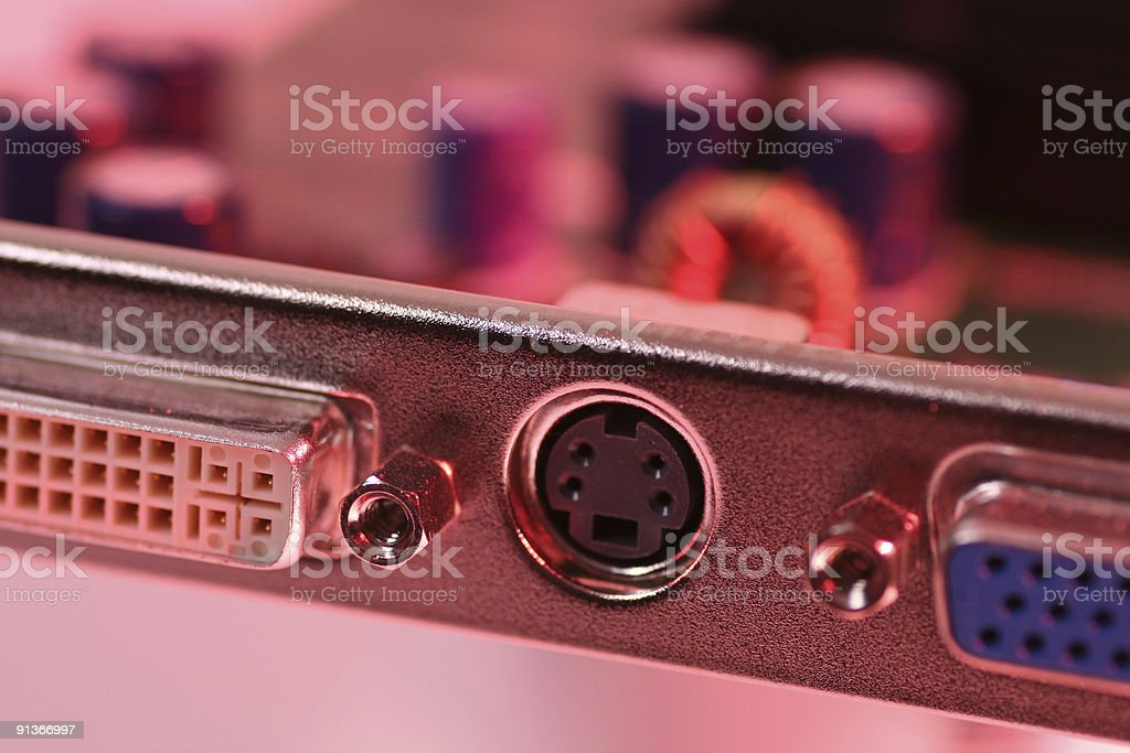 Connectors royalty-free stock photo