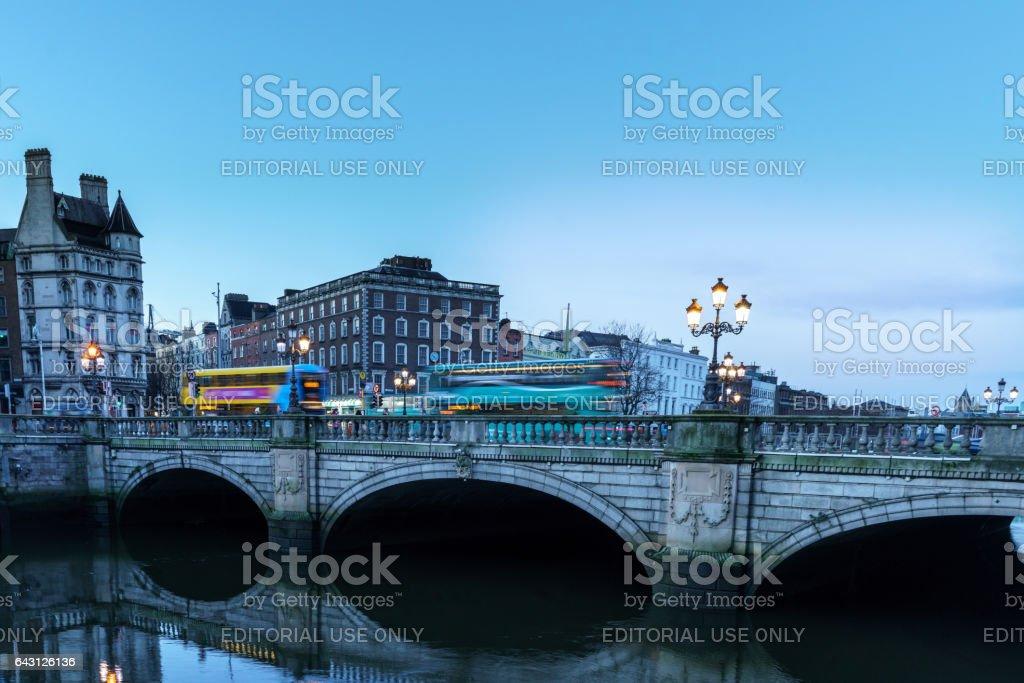 O'Connell Bridge stock photo