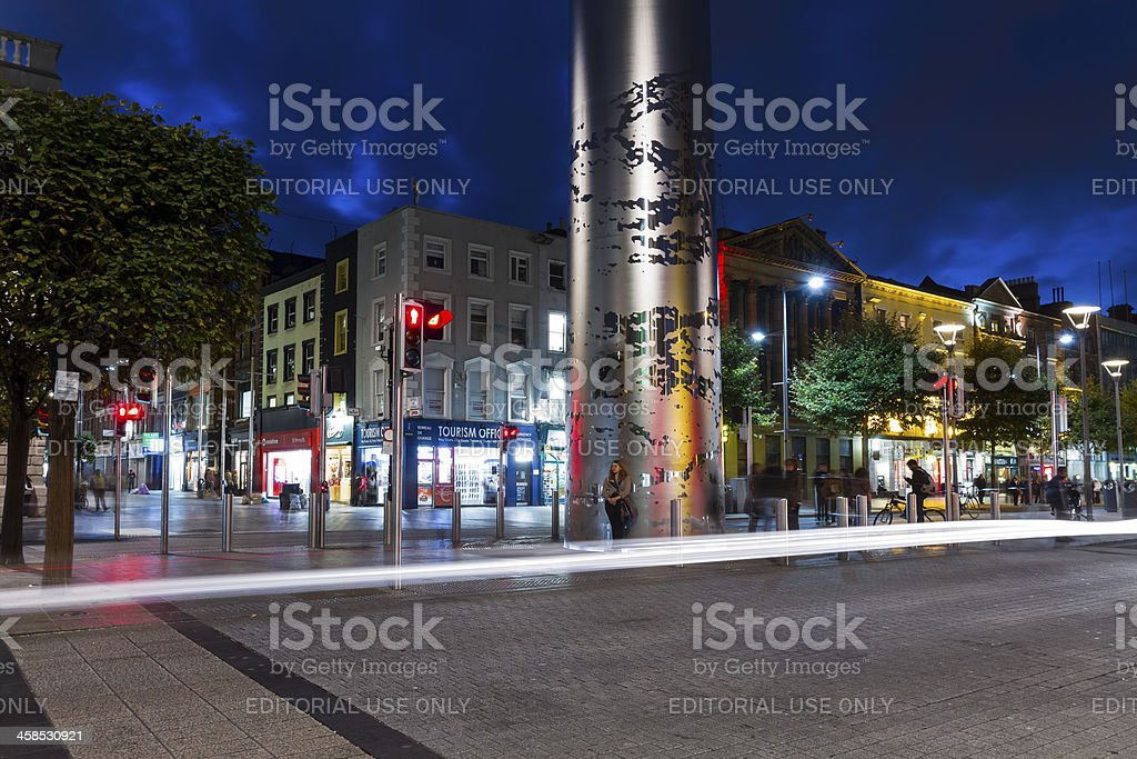 O'Connell Street royalty-free stock photo