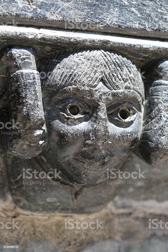 Conques stock photo