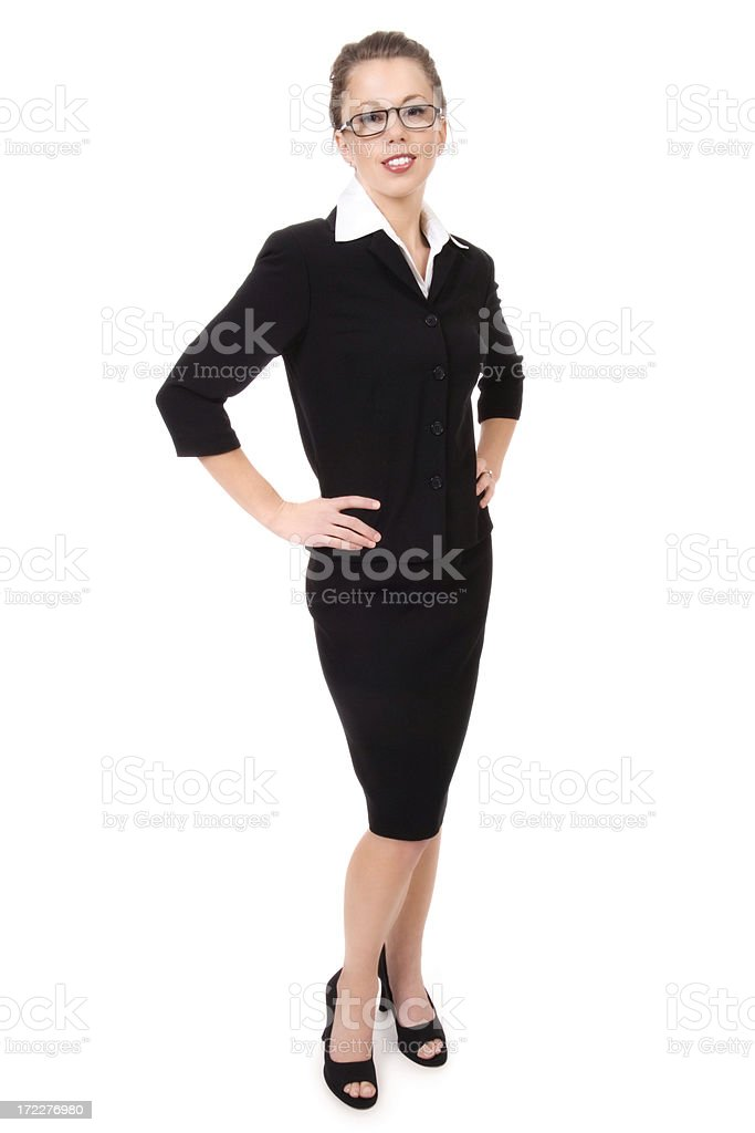 Conservatively Sexy Businesswoman royalty-free stock photo