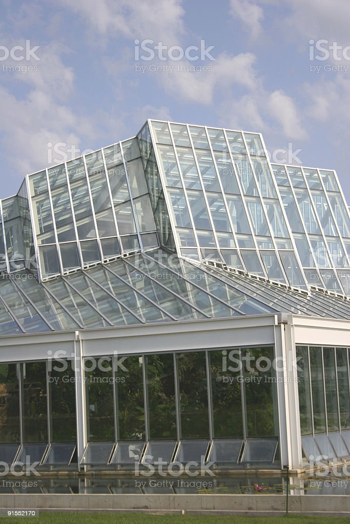 Conservatory Architecture royalty-free stock photo