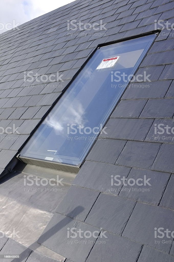 Conservatory rooflight. stock photo