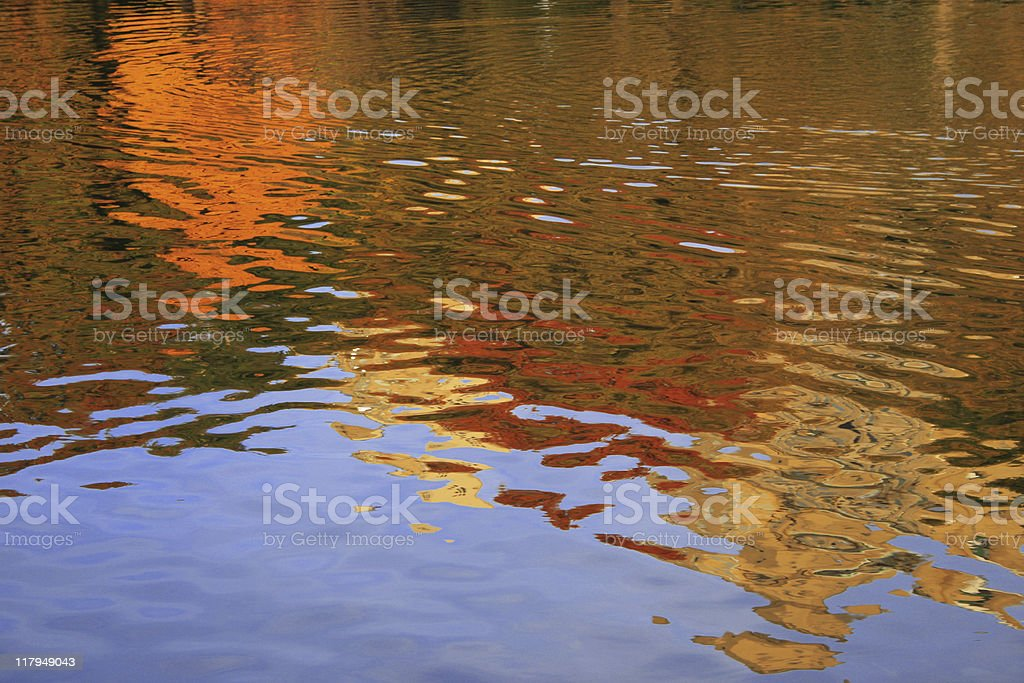 Conservatory Water Pond in Central Park - New York stock photo