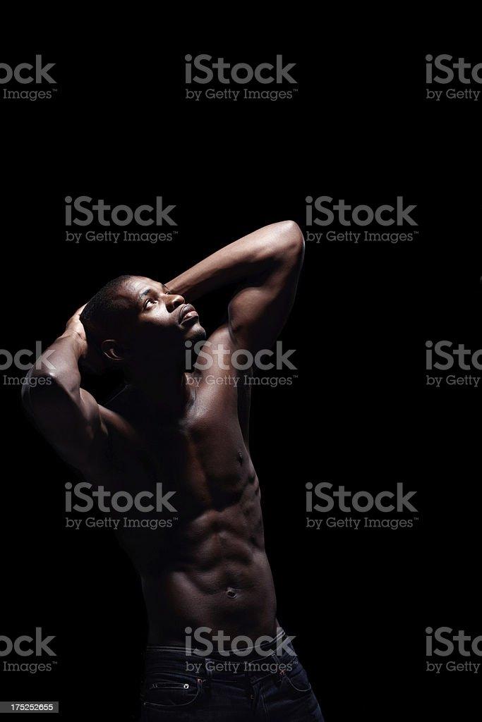 Considering his faith royalty-free stock photo