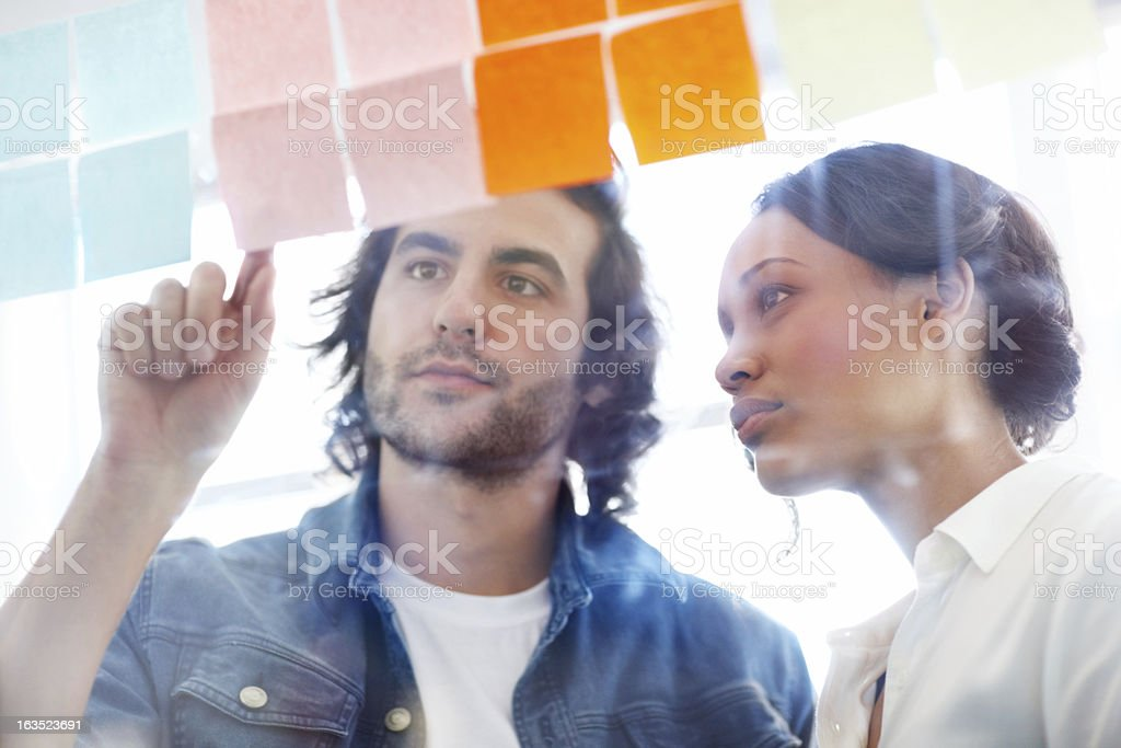 Considering new ideas royalty-free stock photo