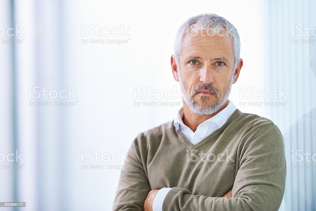 Considering the gravity of the problem stock photo