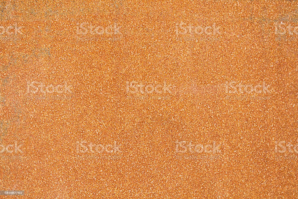 Consistent rusted metal surface royalty-free stock photo