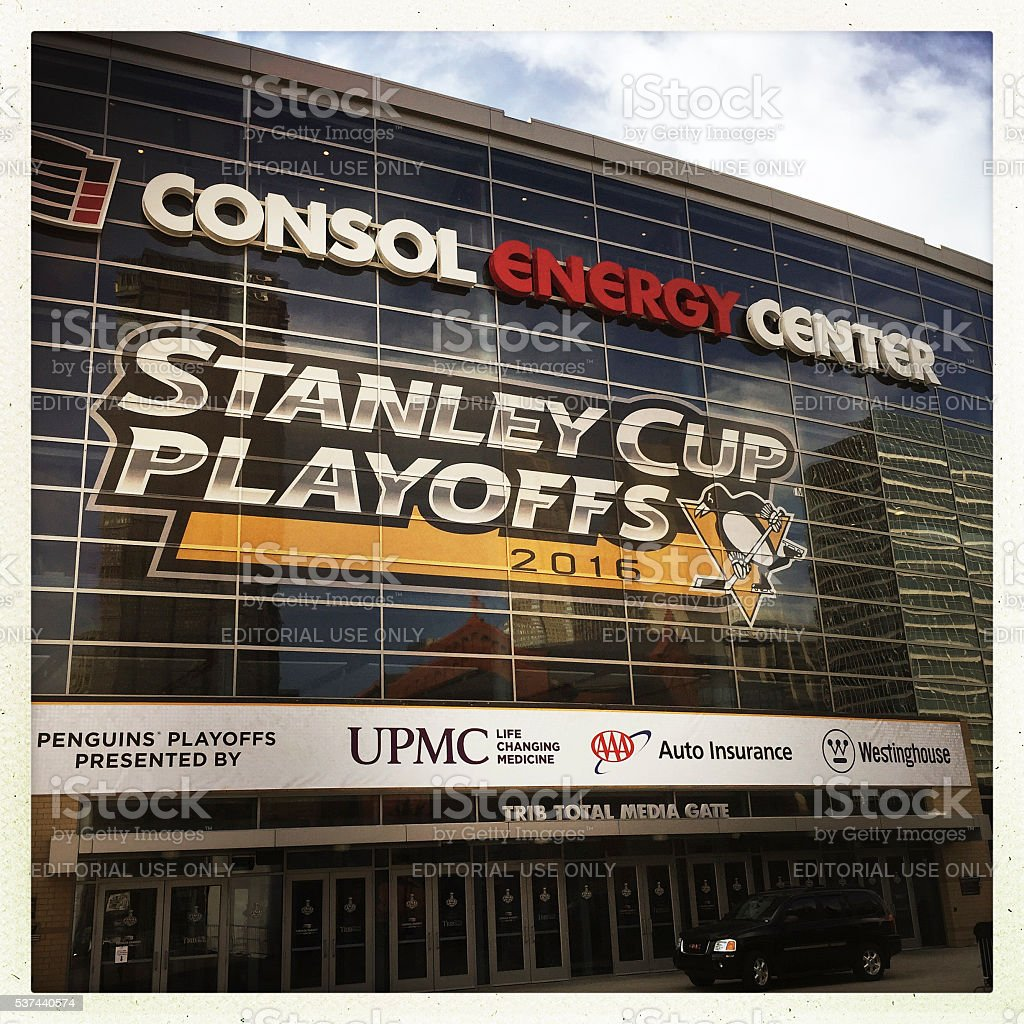 Consol Energy Center stock photo