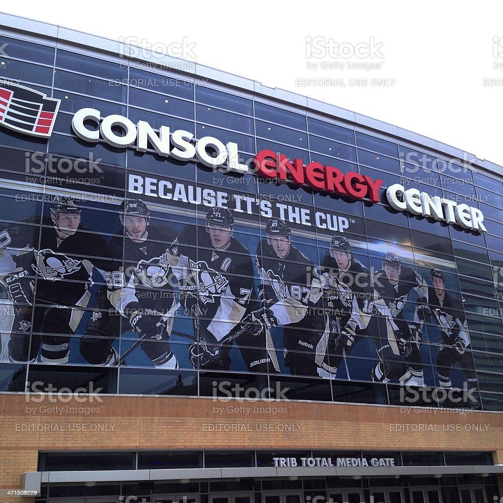 Consol Energy Center Pittsburgh Pennsylvania stock photo