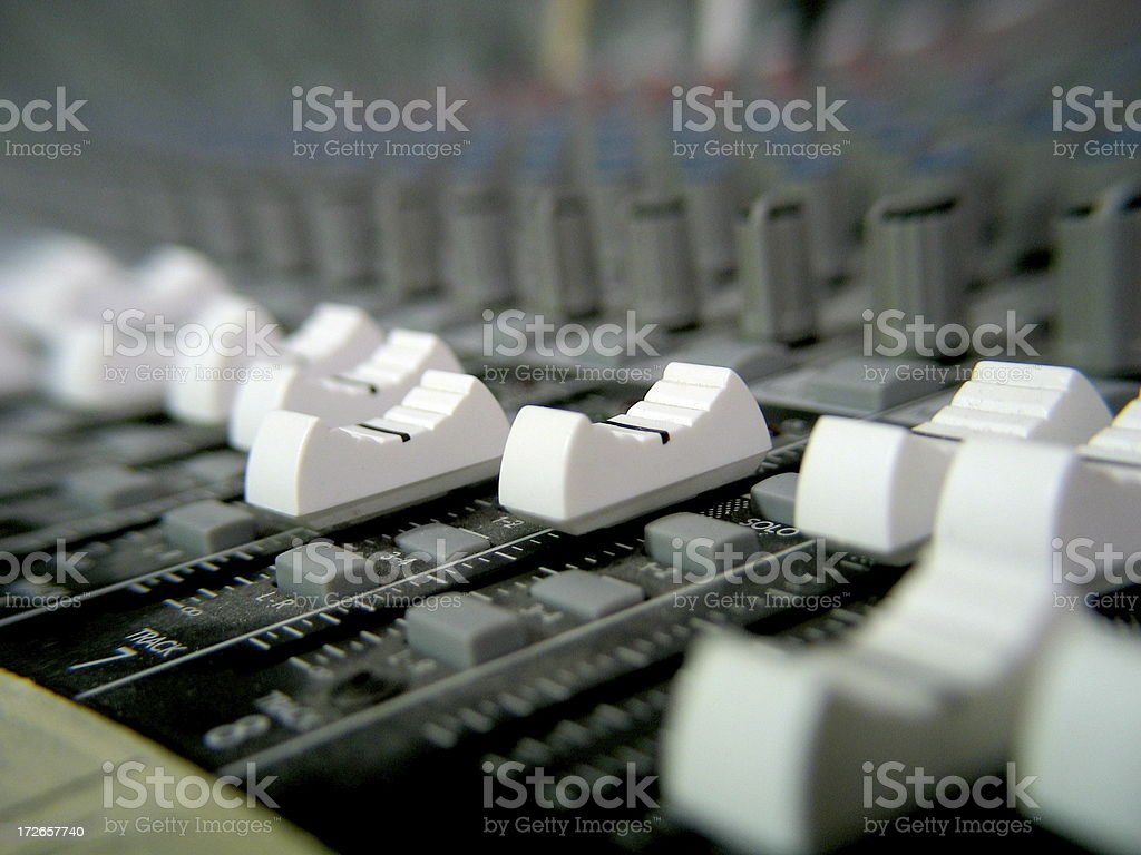 Console Close-up stock photo