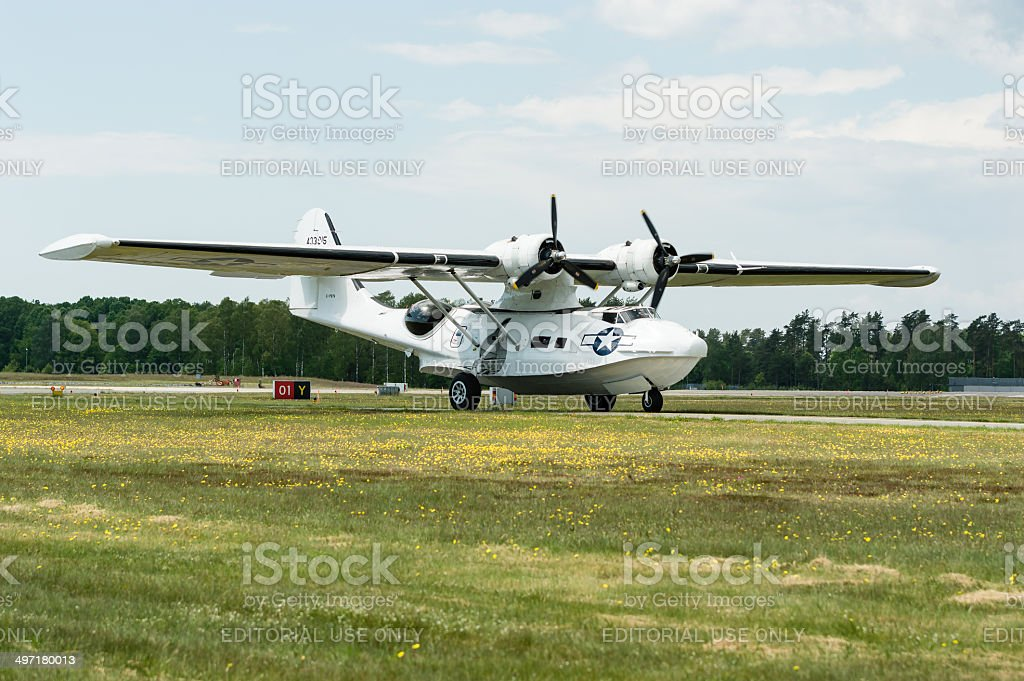 Consolidated PBY Catalina stock photo