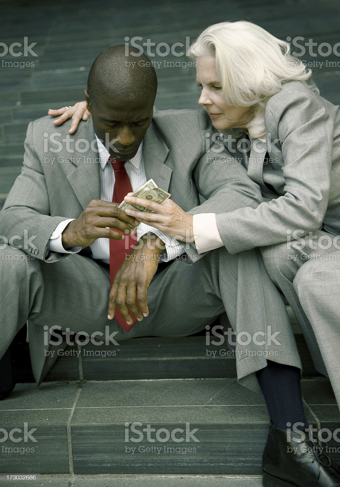 consoling royalty-free stock photo